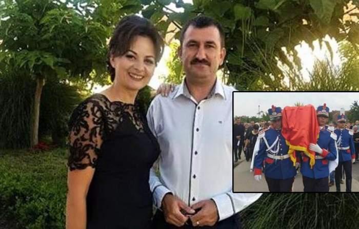 """Soția lui Cristian Amariei, polițistul ucis în Timiș, mesaj cutremurător: """"Ce-i cu lumea asta?"""""""
