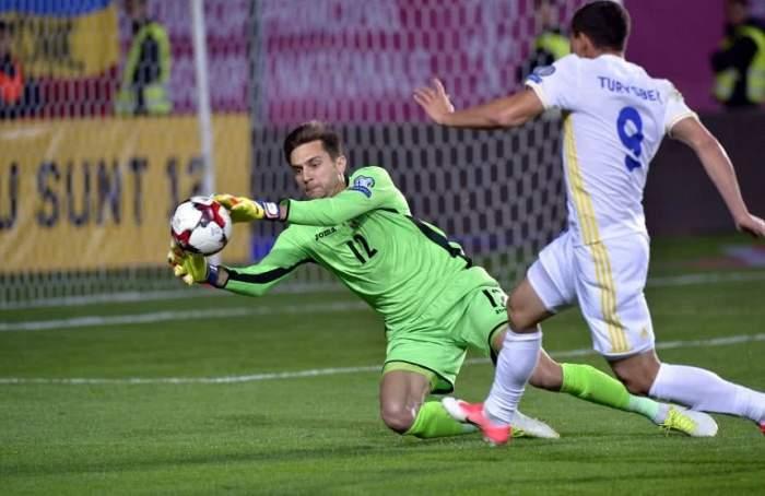 Portarul echipei naţionale, Ciprian Tătăruşanu, a semnat cu o echipă de Champions League