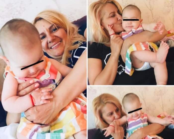 EXCLUSIV / Nicola a devenit bunică! Primele imagini cu Rhea Maria. Micuţa este o superbitate de copil