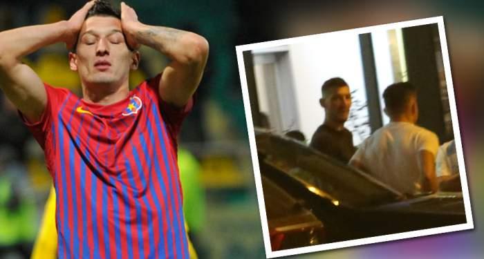 """VIDEO PAPARAZZI / """"Nilă"""" pericol public! Mihai Costea a consumat alcool, apoi s-a urcat la volan! L-a avut complice pe """"valetul"""" lui Gigi Becali"""