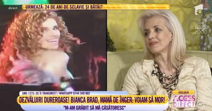 """Dezvăluirile cutremurătoare ale Biancăi Brad, mama unui înger: """"Voiam să mor"""". VIDEO"""