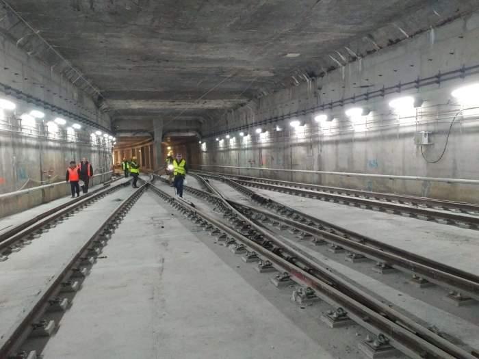 """Magistrala 5 de metrou, aproape finalizată! Directorul Metrorex: """"Dacă nu terminăm în decembrie, îmi dau demisia"""""""