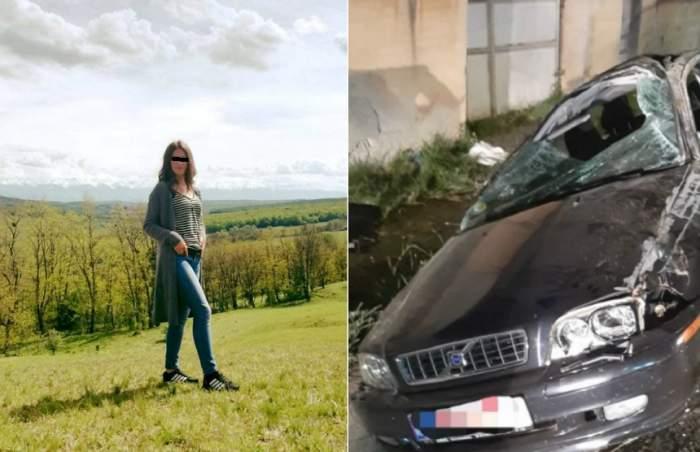 Ea este fata de 18 ani, moartă în accidentul grav din Sibiu! Maria, plânsă de toţi cei care o cunoşteau