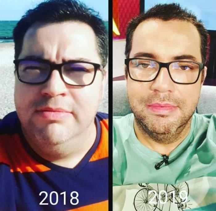 """După ce a slăbit zeci de kilograme, acum Răzvan Popescu a găsit """"vinovatul"""" pentru care detestă dietele: """"Cei din jur trebuie să te susțină"""""""