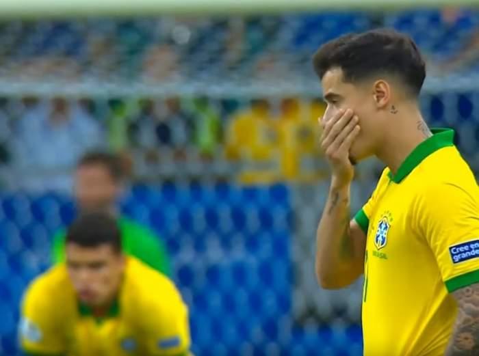 """VIDEO / Brazlia s-a făcut de râs la Copa America! Fanii şi-au fluierat favoriţii, la finalul meciului cu Venezuela! """"Suntem la pământ"""""""