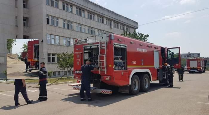 Ultimă oră! Incendiu la un spital din Constanţa