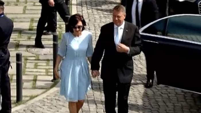 Klaus Iohannis și soția sa, Carmen Iohannis au ajuns la Blaj, pentru întâmpinarea Sanctității Sale Papa Francisc