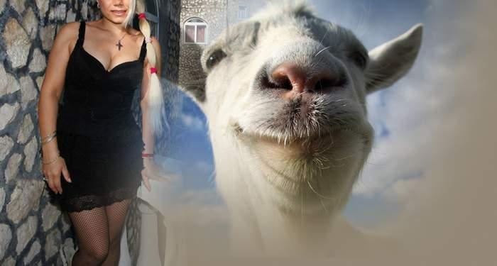 Vedetă TV, obligată să scoată caprele din dormitor, ca să facă dragoste!
