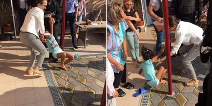 Ipoteză şocantă în cazul fetiţei luată pe sus de mascaţi la Baia de Aramă. Micuţa ar urma să devină donator de organe în America