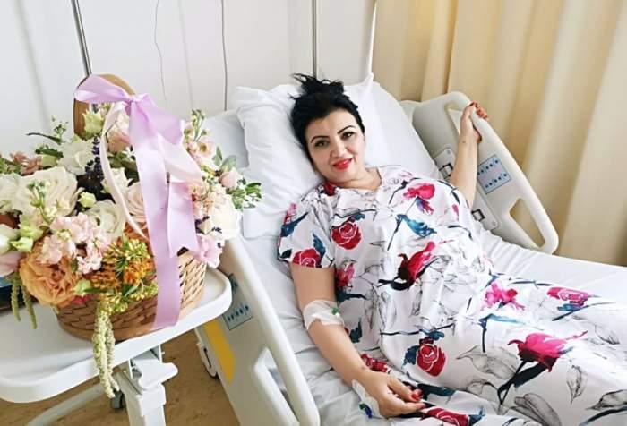 """Adriana Bahmuțeanu a avut parte de o vizită surpriză la spital! """"Mi-a salvat și mie viața"""". FOTO"""