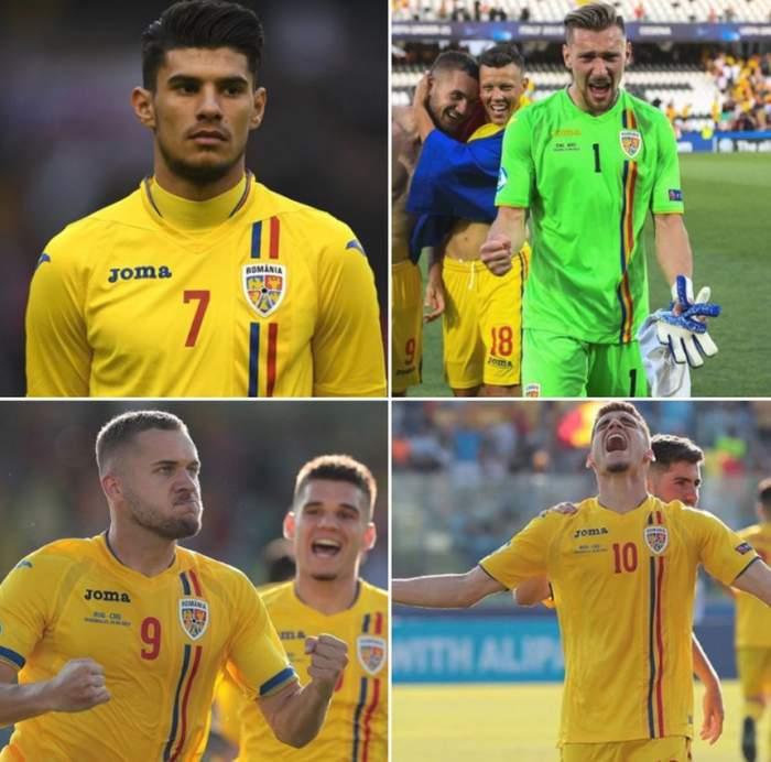 Câţi bani au făcut regii fotbalului de la Naţionala mică până la 21 de ani. Băieţii lui Rădoi întorc banii cu lopata