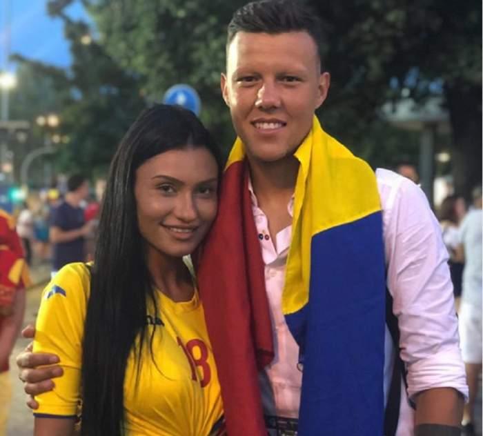 Naționala U21 de fotbal a României, plină de bombe sexy! Cum arată iubita lui Adrian Rus