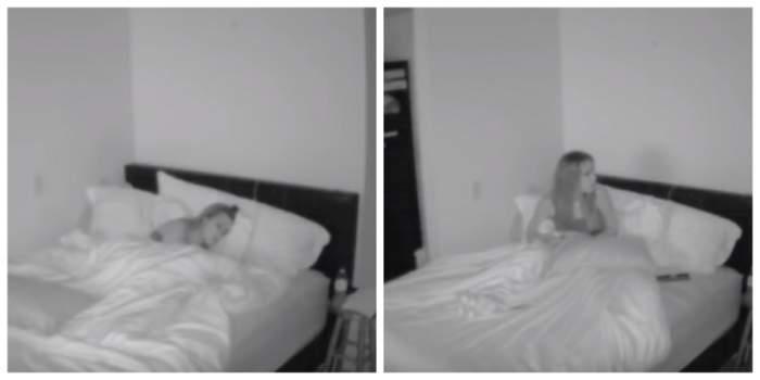 În fiecare seară, simţea cum cineva o dezveleşte. S-a uitat pe cameră şi i-a îngheţat sângele în vene. VIDEO