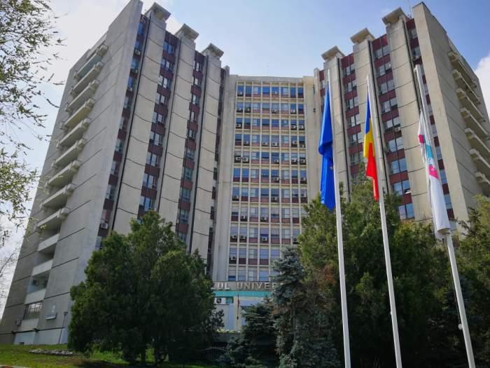 Scenă șocantă în București. Un tânăr de 22 de ani s-a aruncat de pe Spitalul Universitar