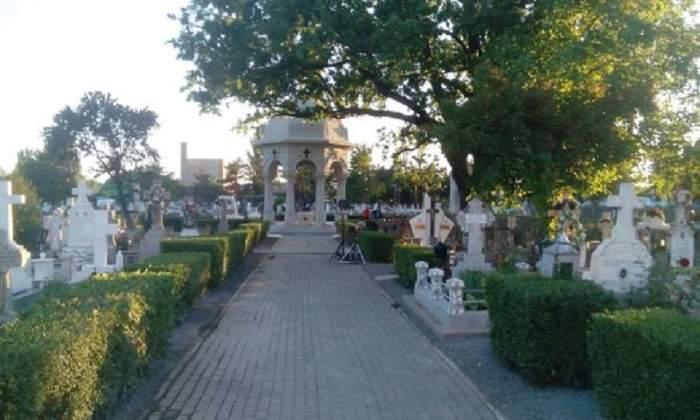Hoț alergat printre morminte de paznic, după ce a spart o biserică, cu o șurubelniță. Se întâmplă în Buzău