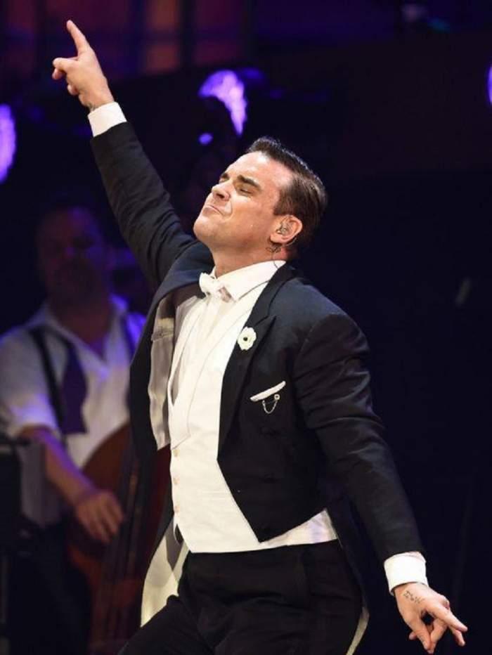 Este oficial! Celebrul solist Robbie Williams va concerta în România
