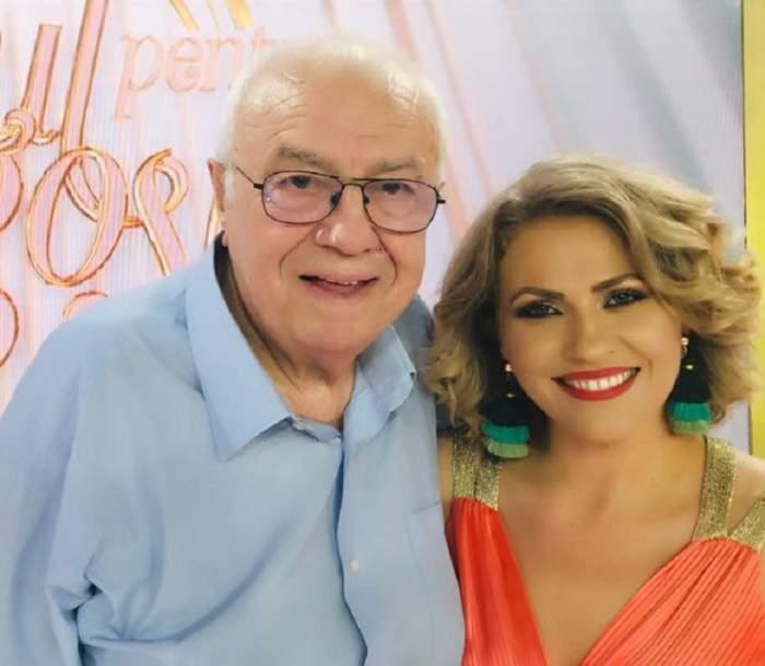 """Mirela Vaida, mesaj emoţionant pentru Alexandru Arşinel: """"Dacă astăzi sunt, cât de cât """"cineva"""", lui îi datorez"""""""