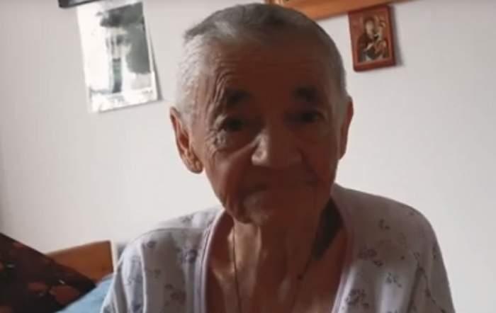 Bătrână din Constanţa, lăsată fără casă şi abandonată în munţi de un preot. VIDEO