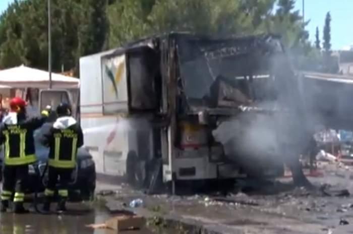 Explozie puternică într-o localitate din Italia. 20 de persoane au fost rănite