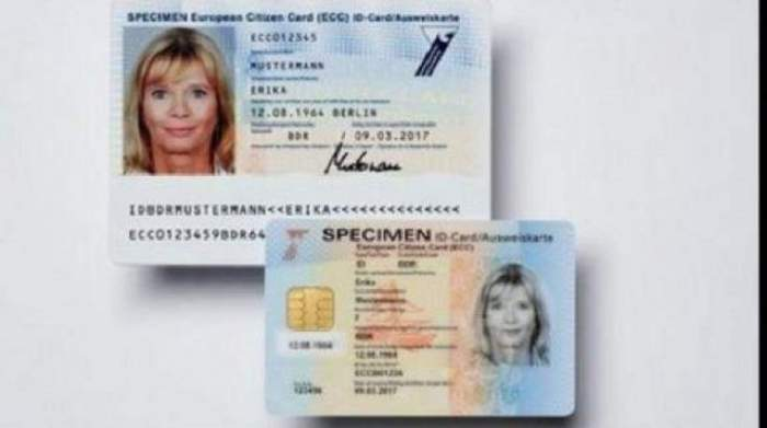 Obligatoriu! Vor fi preschimbate cărţile de identitate în toate ţările UE, inclusiv România