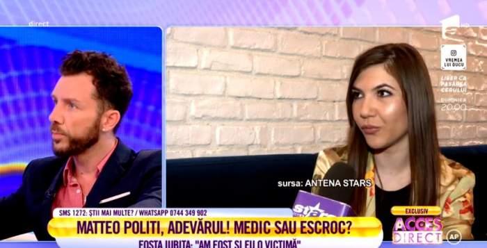 """Matteo Politi îi răspunde fostei iubite, în urma acuzaţiilor aduse. """"O iubeam"""""""