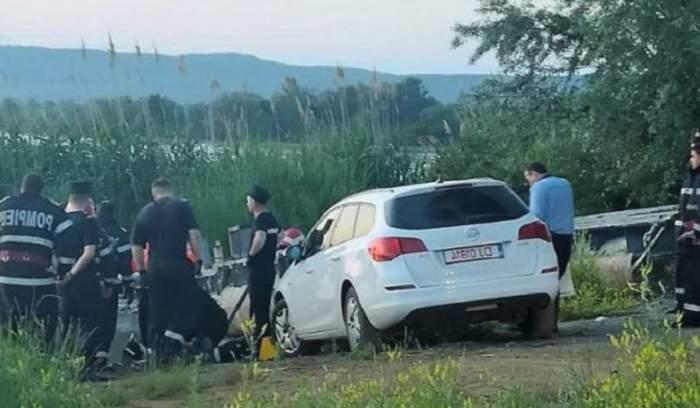 Accident șocant în Delta Dunării! O tânără mamă a murit strivită de propria mașină, sub ochii copilului
