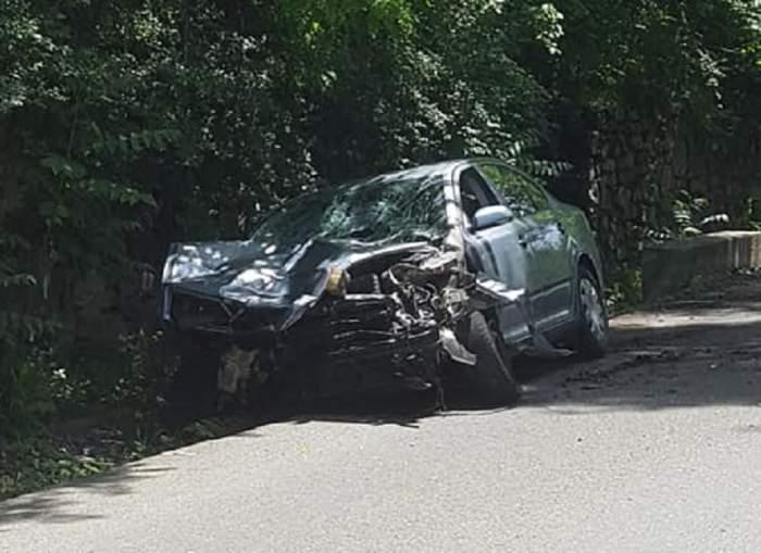 Accident terifiant în Caraş-Severin. Un pieton a fost ucis. FOTO