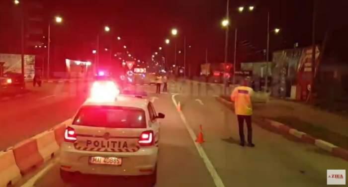 Accident grav în Mamaia Nord! Poliţistă de 25 de ani, aflată în misiune, spulberată de un motociclist beat. VIDEO