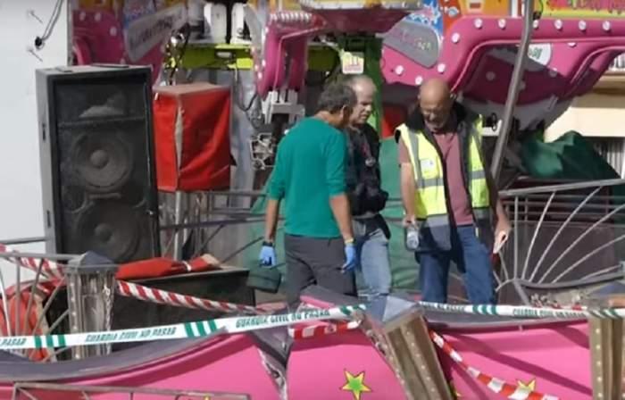 Momente de groază într-un parc de distracţii! 28 de victime, majoritatea copii, după ce un carusel a scăpat de sub control