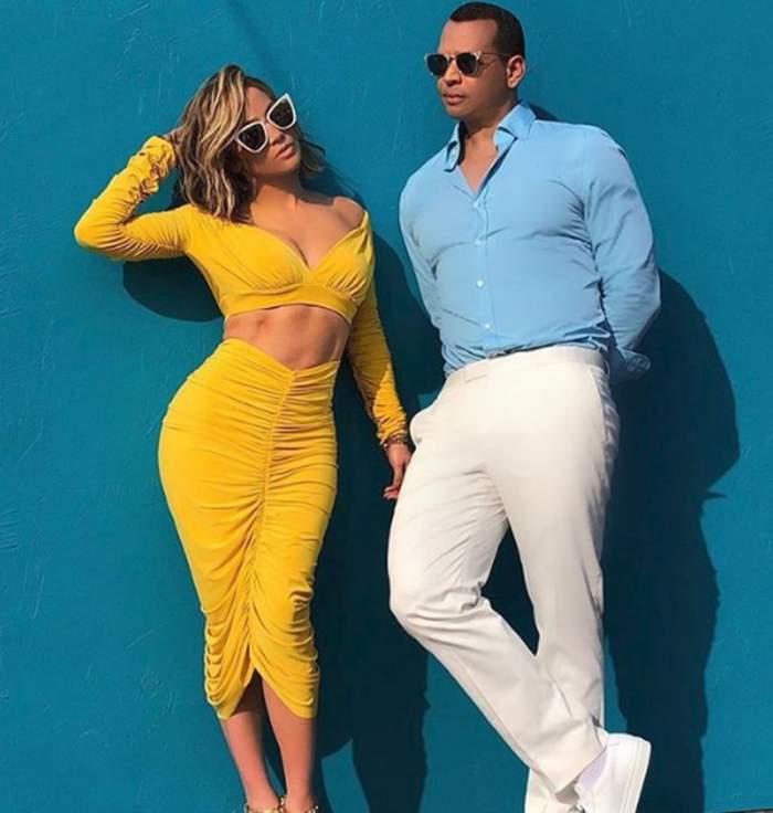 Jennifer Lopez şi Alex Rodriguez, prima şedinţă foto împreună. Imagini senzaţionale cu cuplul momentului / VIDEO