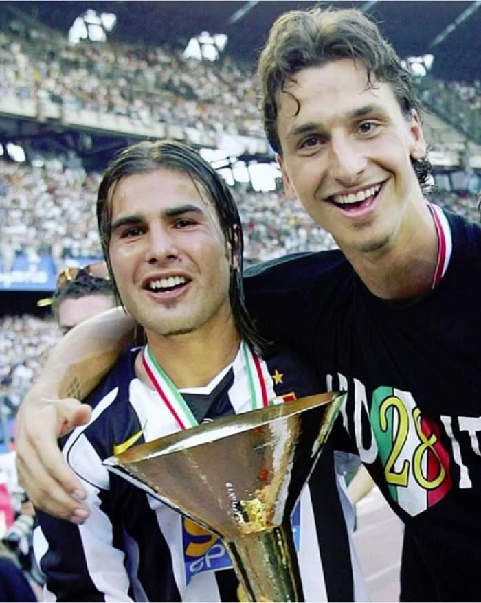 """Întâmplare haioasă cu Adrian Mutu şi Zlatan Ibrahimovic, la Juventus! """"Adri, trezeşte-te! Am avut un coşmar"""". Continuare este epică"""
