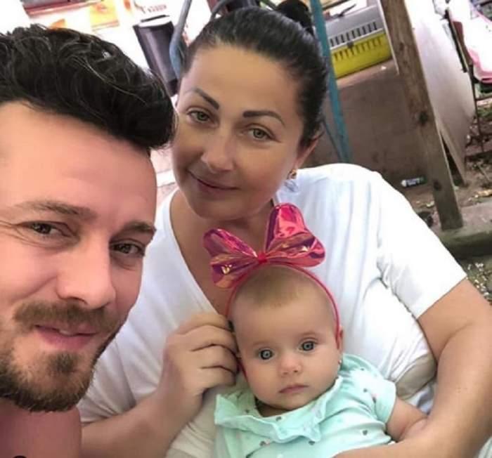 Gabriela Cristea și Tavi Clonda, tablou de familie alături de fiica lor cea mică! Internauții au înroșit butonul de like