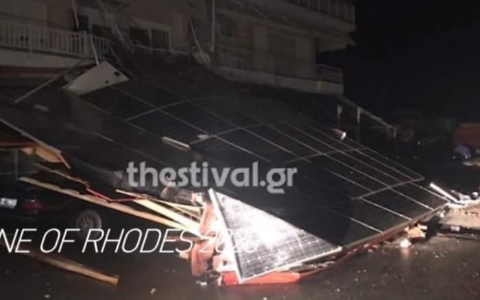 Primele imagini din locul în care au murit cei doi români, în Grecia / VIDEO
