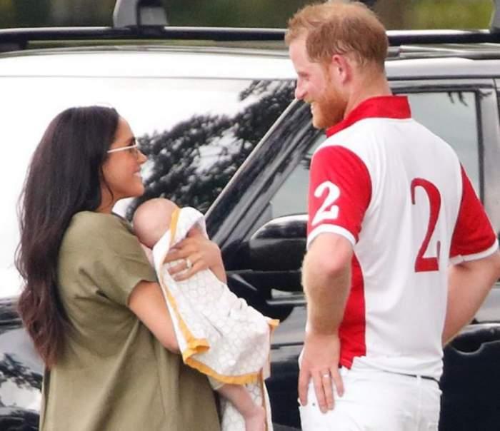 Meghan Markle a ieşit pentru prima dată în public cu băieţelul ei şi al Prinţului Harry. Cât de simpatic este micuţul Archie / VIDEO