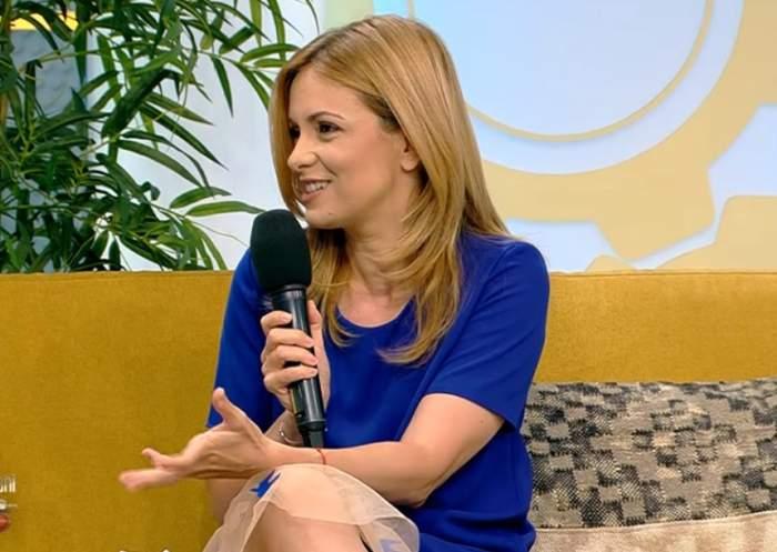 Simona Gherghe, prima apariție într-un platou, după ce a născut a doua oară