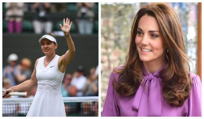 Simona Halep, felicitată de Kate Middleton după ce a câștigat finala de la Wimbledon. Ce mesaj i-a transmis ducesa