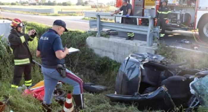 Tragedie românească, în Italia! Patru persoane au pierit, în urma unui cumplit accident