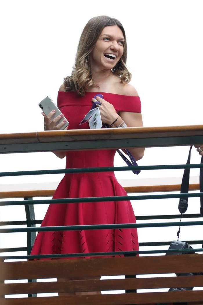 Simona Halep, ședință foto într-o rochiță sexy, după câștigarea turneului de la Wimbledon