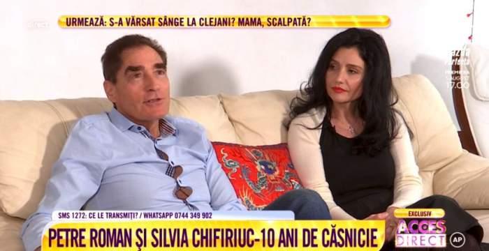 """Silvia Chifiriuc, detalii nemaiştiute despre începutul relaţiei cu Petre Roman. """"Chiuleam de la cursuri ca să ne vedem"""" / VIDEO"""