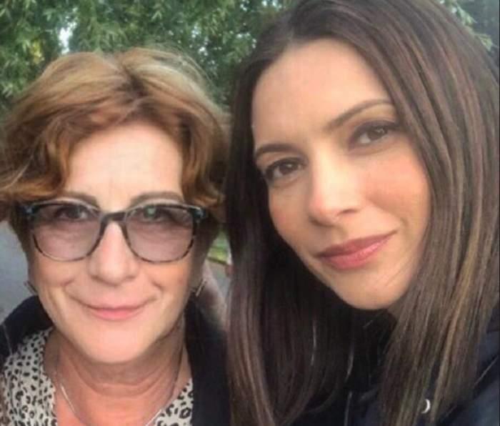 """Andreea Berecleanu, mesaj emoţionant pentru mama ei: """"Să ne ţii bucuriile în palmele tale ocrotitoare"""""""