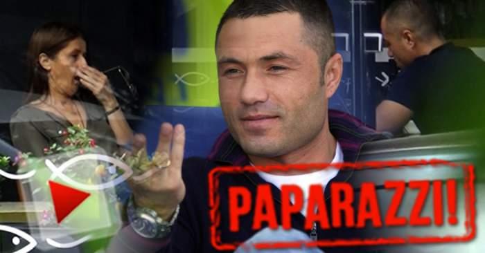 """VIDEO PAPAPARAZZI / Adrian Ilie nu mai are niciun farmec! """"Cobra"""", la un pas să-şi adoarmă soţia pe o terasă de fiţe"""
