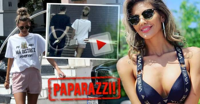 """VIDEO EXCLUSIV / Cine o consolează pe Ramona, asistenta sexy de la """"Neatza cu Răzvan şi Dani"""", după divorţ? Un bărbat celebru a venit la ea acasă cu o sticlă de vin"""