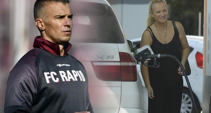VIDEO PAPARAZZI / Imagini uluitoare cu fosta soţie a lui Daniel Pancu! Mihaela a vrut să pară în pas cu moda, dar şi-a uitat încălţămintea acasă