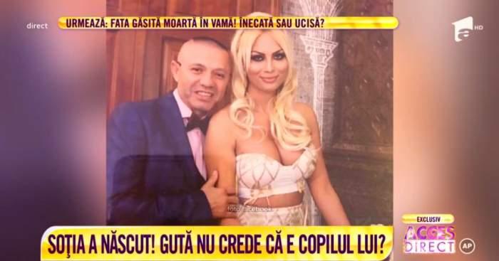 """Nicolae Guţă, la un pas de a face testul de paternitate pentru cel de-al 11-lea copil. """"Au existat controverse asupra noastră"""""""