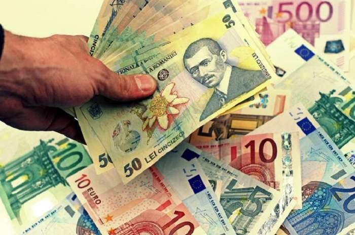 Curs valutar BNR azi, 5 iulie. Creșteri masive pentru euro, dolar și lira sterlină. Cât costă un gram de aur