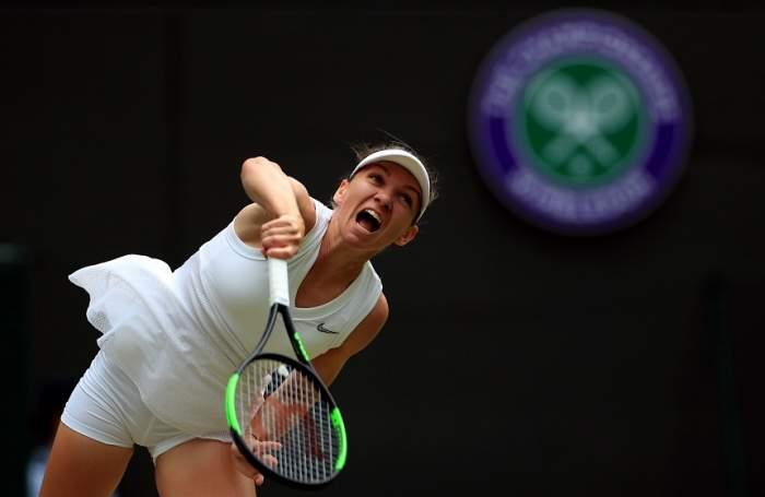 Simona Halep s-a calificat în semifinalele turneului de la Wimbledon!
