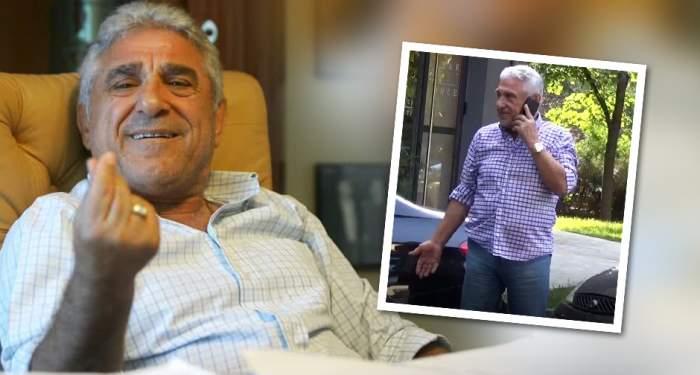 VIDEO PAPARAZZI / Giovanni Becali, show de zile mari în mijlocul străzii! Ce a făcut celebrul impresar de dragul unui prieten