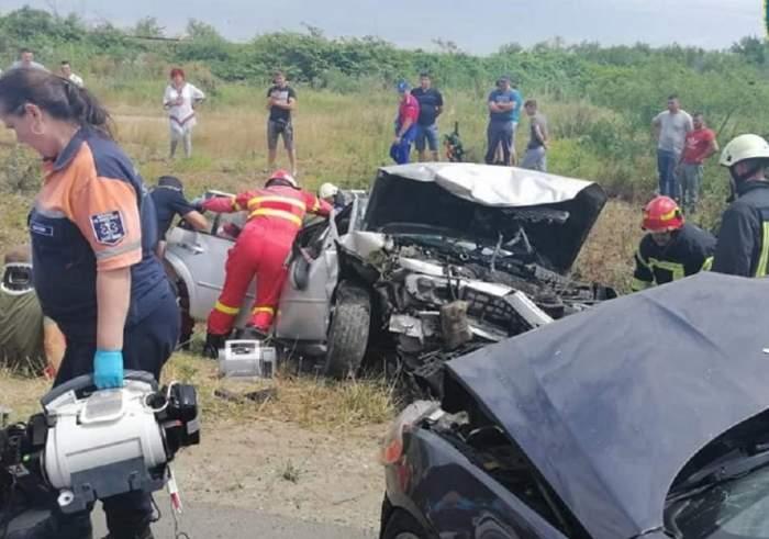 Accident grav în Satu Mare! Sunt mai multe victime, printre care și o femeie gravidă