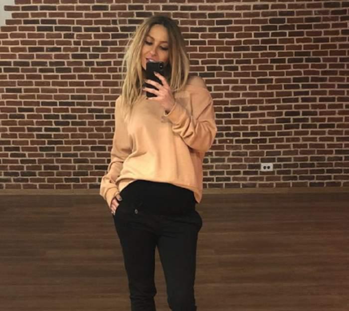 Flavia Mihășan, trasă prin inel, la 3 săptămâni după ce a născut. Care este secretul siluetei blondinei