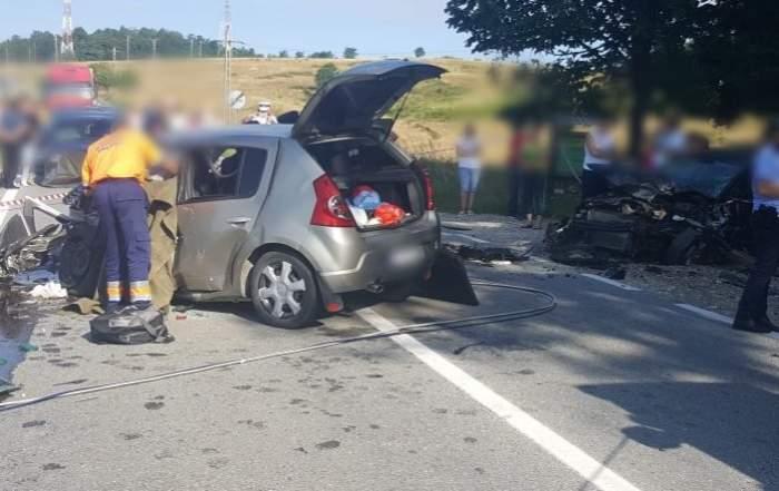 Accident grav, în Vâlcea! Două persoane și-au pierdut viața